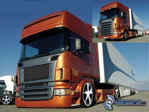 camión, virtual tuning