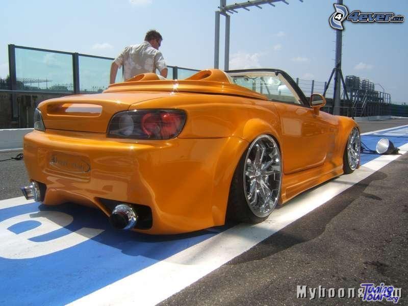 coche, Honda S2000, tuning