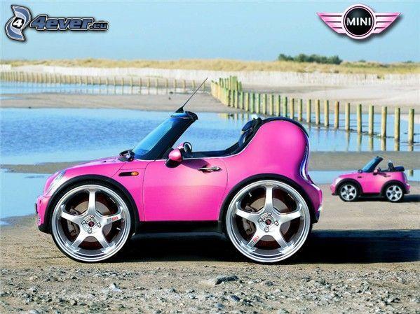 coche, Mini Cooper, juguete