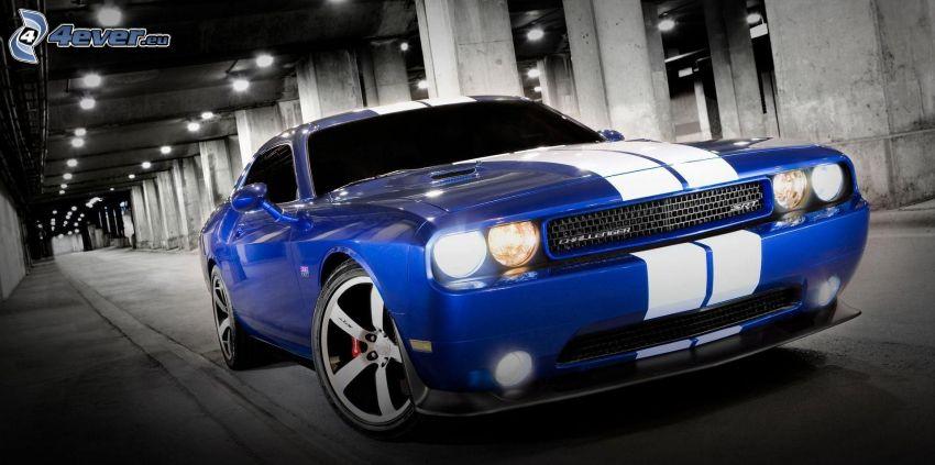 Dodge Challenger, túnel