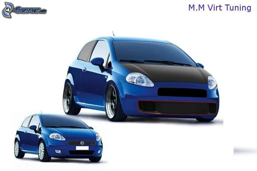 Fiat Punto, virtual tuning