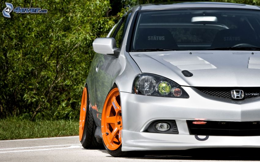 Honda Accord, delantera de coche, rueda de coche