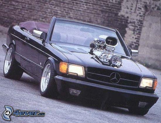 Mercedes, Big Block, motor
