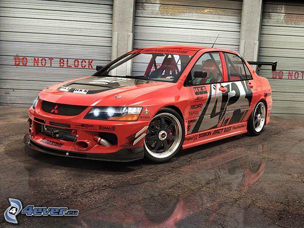 Mitsubishi Lancer, tuning, rally