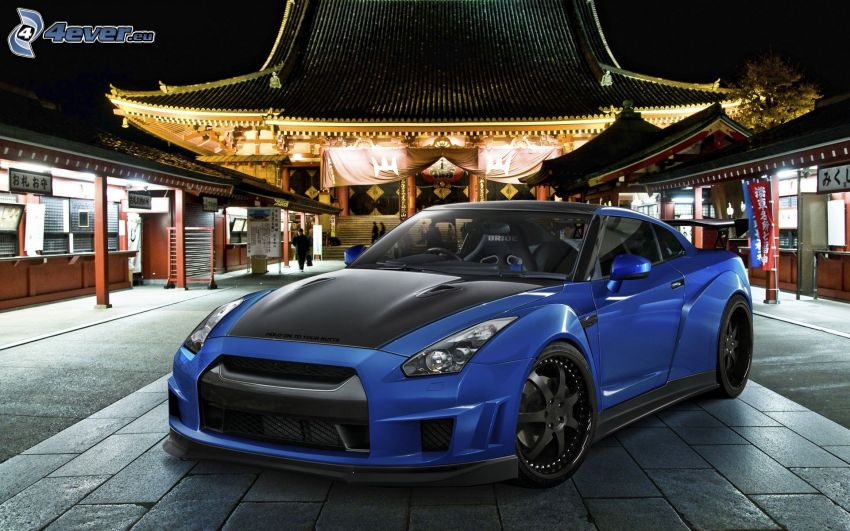 Nissan GTR, pavimento