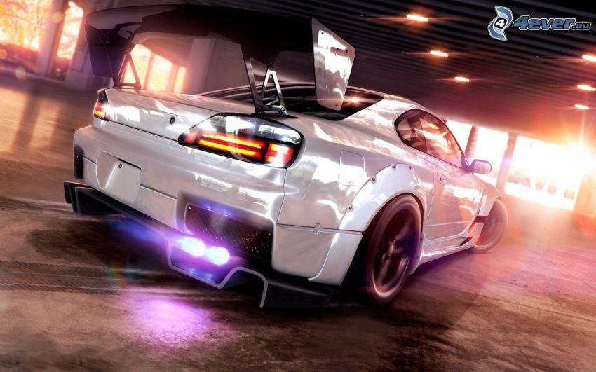 Nissan Silvia, luz