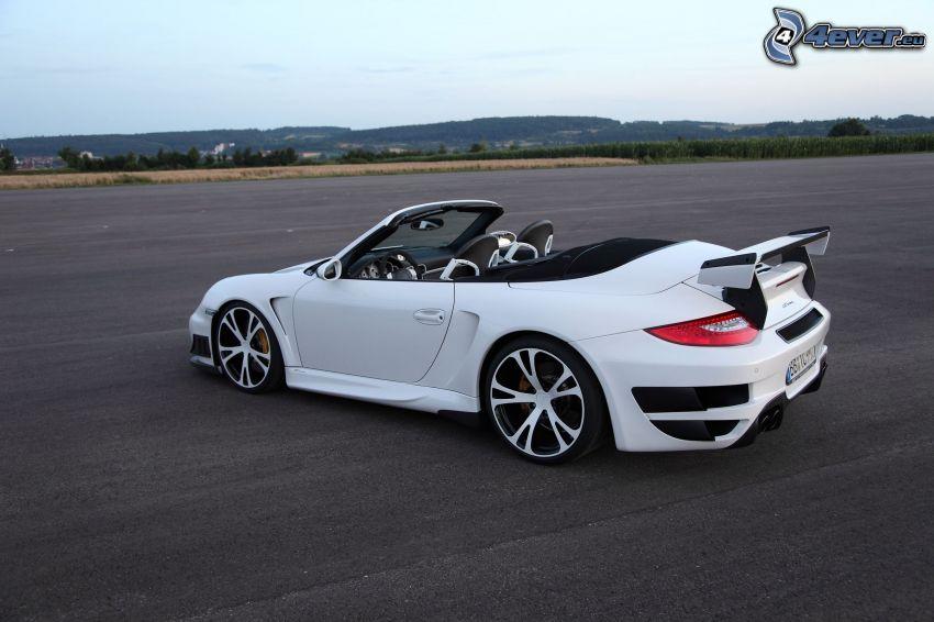 Porsche 911 Turbo, descapotable, tuning