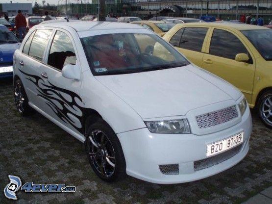 Škoda Fabia, blanco