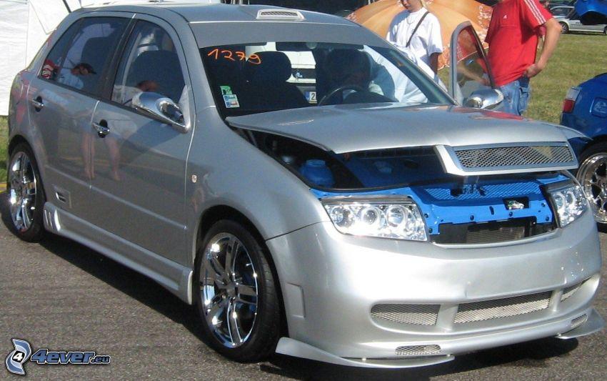 Škoda Fabia, coche, tuning, Škoda