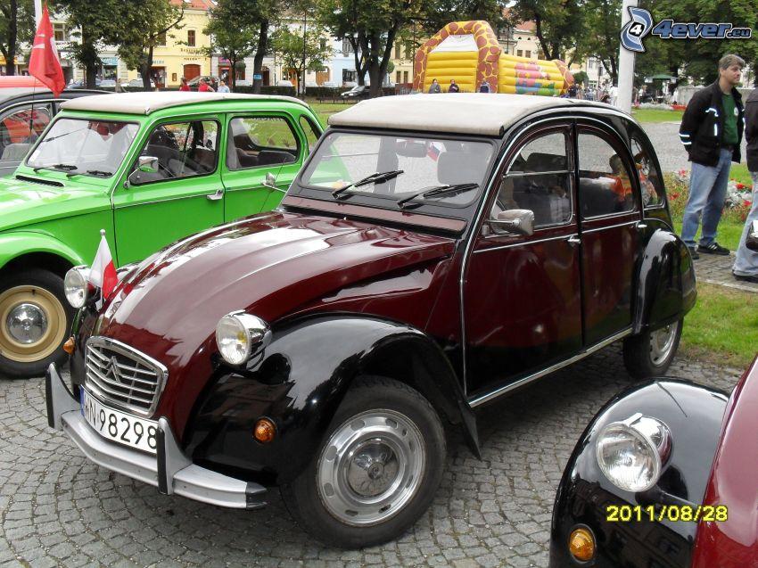 veterano, Citroën, coche