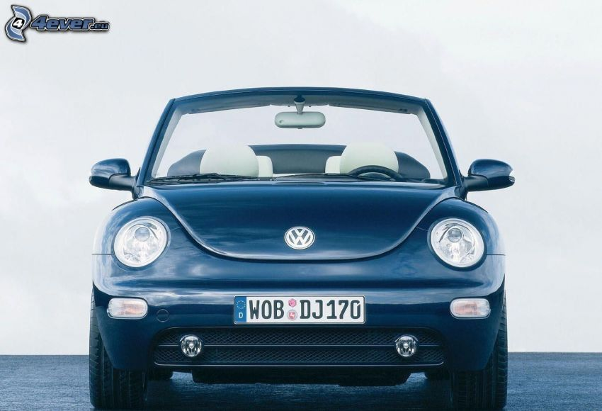 Volkswagen Beetle, descapotable