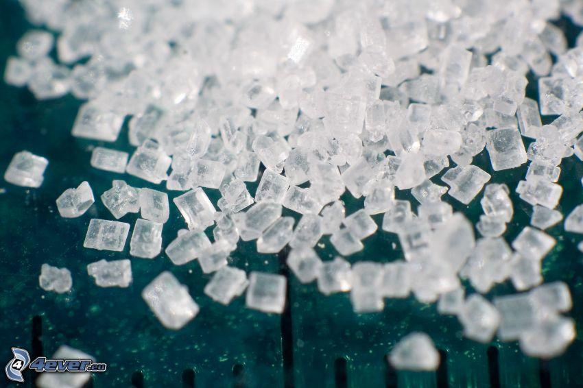 azúcar, cristal