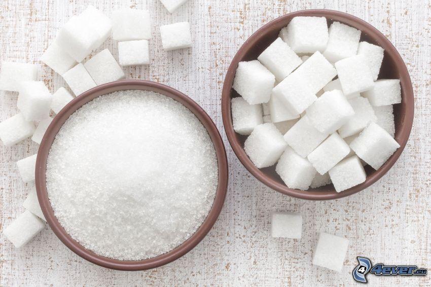 azúcar, terrones de azúcar