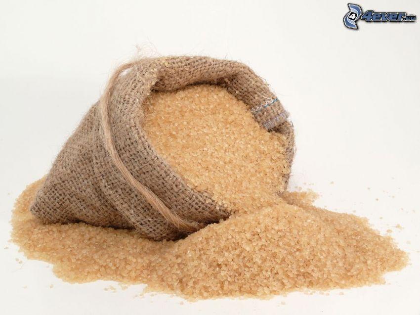 azúcar moreno integral, bolsa