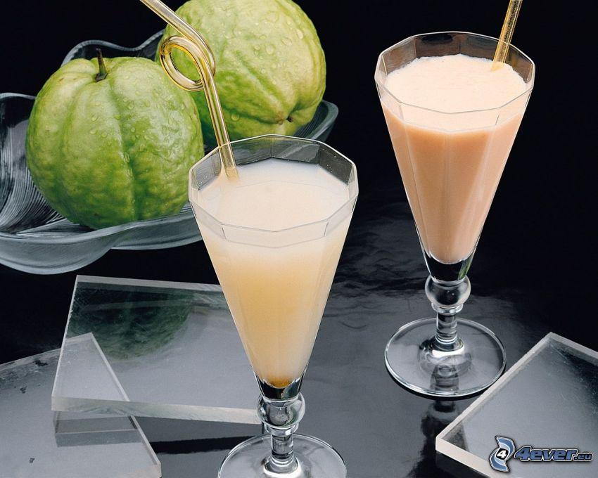 bebidas, fruta