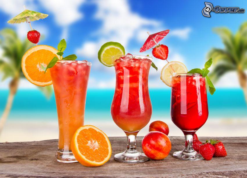 bebidas mezcladas, cóctel