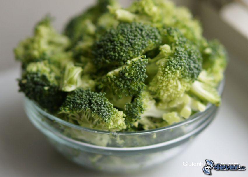 brócoli, tazón