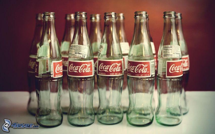 Coca Cola, botellas