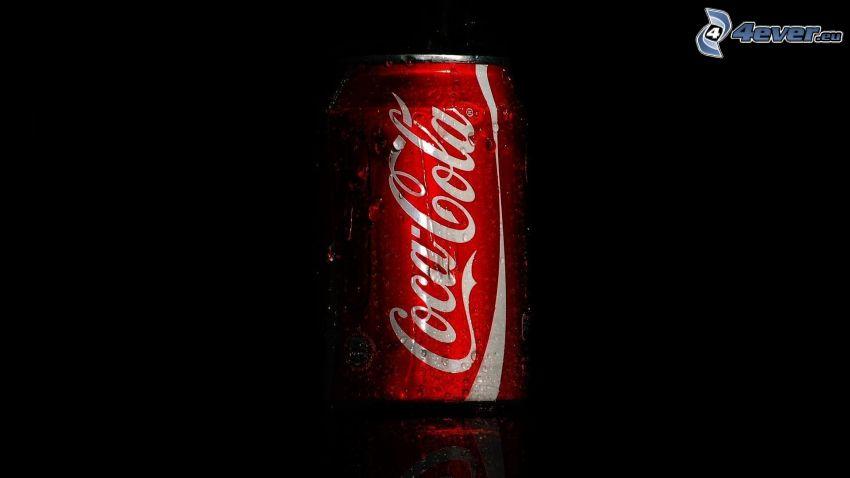 Coca Cola, lata