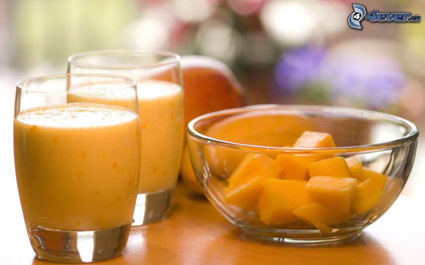 cóctel, mango