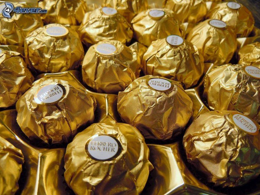 Ferrero Rocher, caramelos