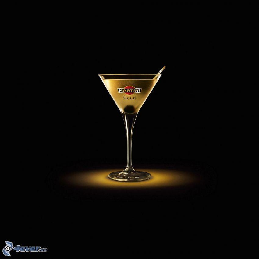 Martini, drink, alcohol