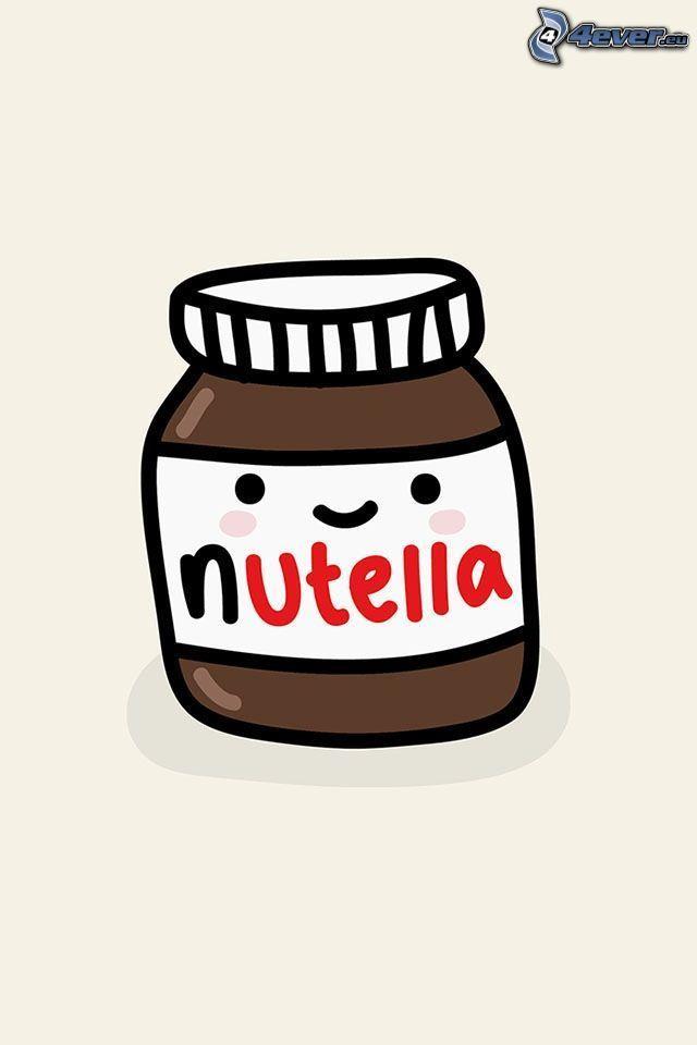 nutella, dibujos animados
