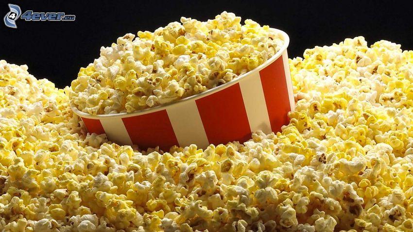 popcorn, palomitas