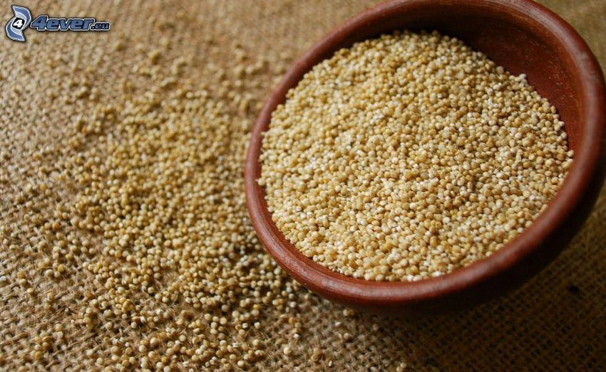 Quinoa, tazón