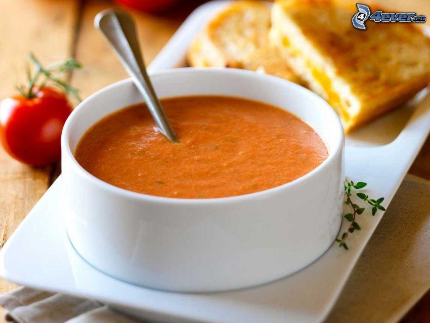 sopa de tomate, tomate