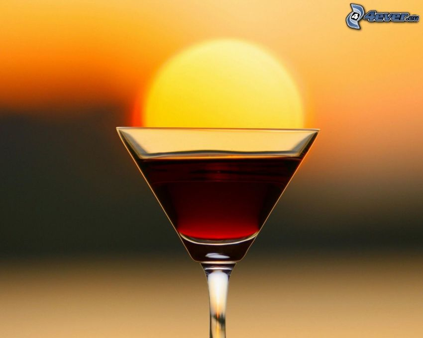 tequila, puesta del sol