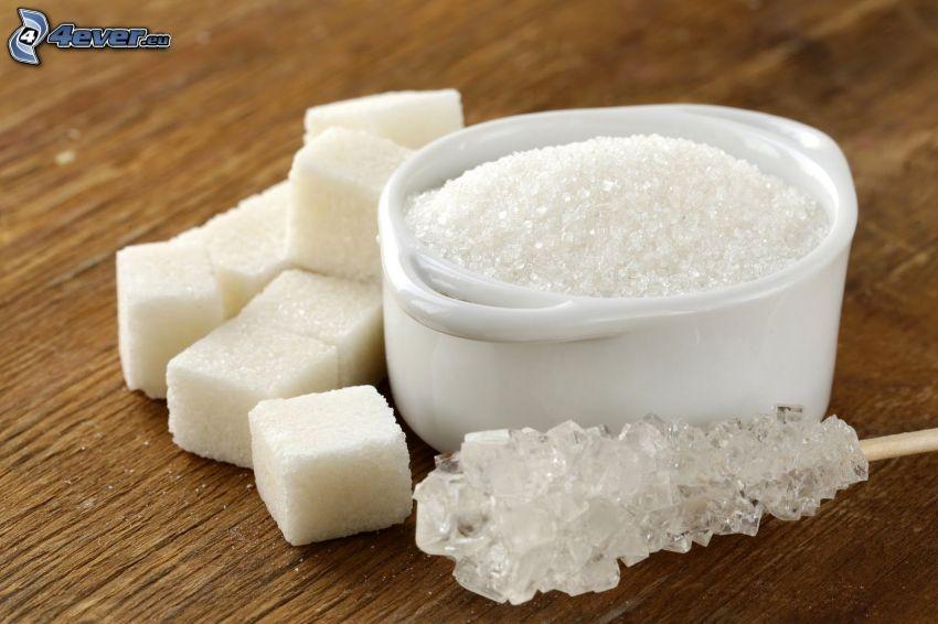 terrones de azúcar, azúcar