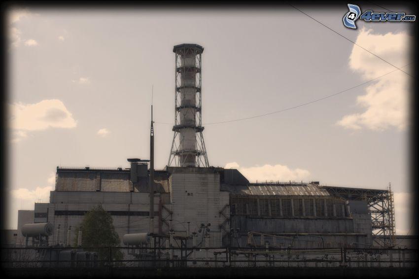 Chernobyl, planta de energía nuclear