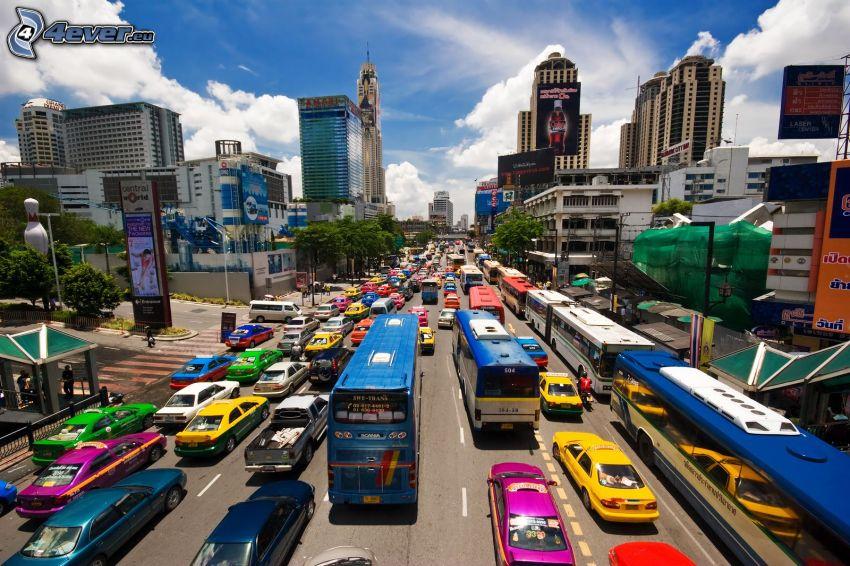Bangkok, calle