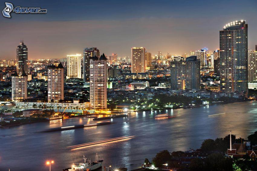 Bangkok, ciudad de noche