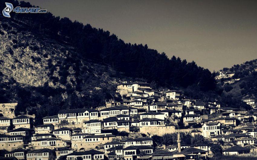 Berat, barraca