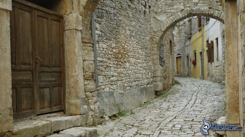 callejón de piedra, Jerusalén