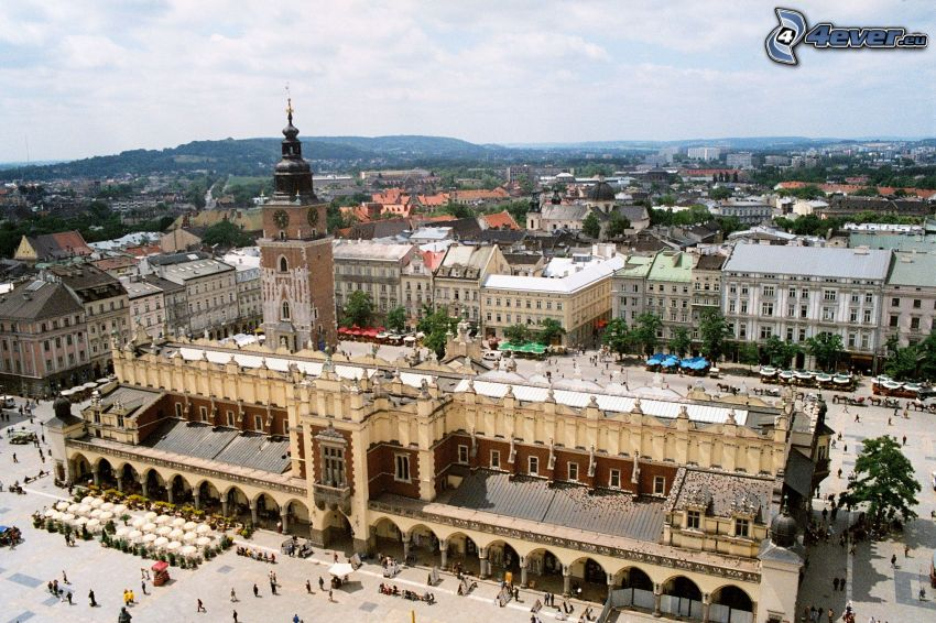 Castillo de Wawel, Cracovia, plaza
