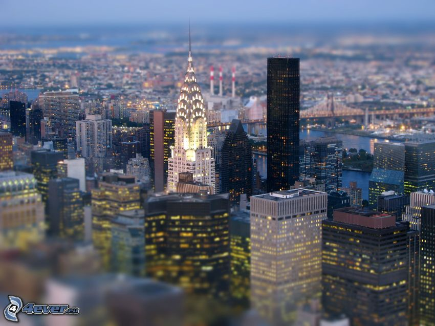 Chrysler Building, New York, diorama