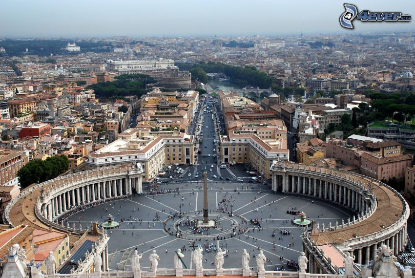 Ciudad del Vaticano, Plaza de San Pedro