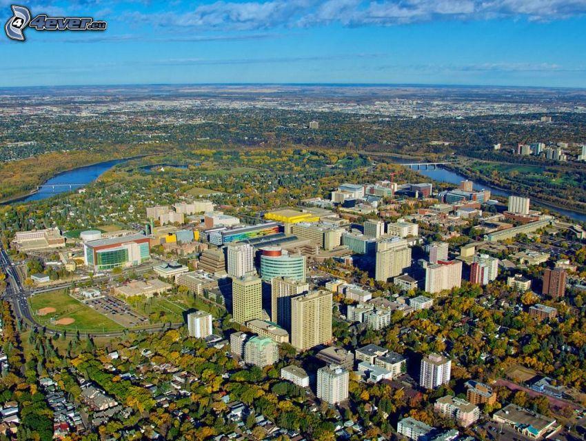 Edmonton, bosque