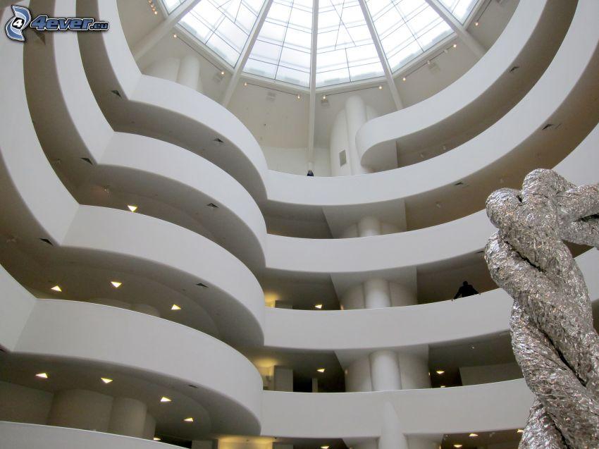 Guggenheim Museum, interior