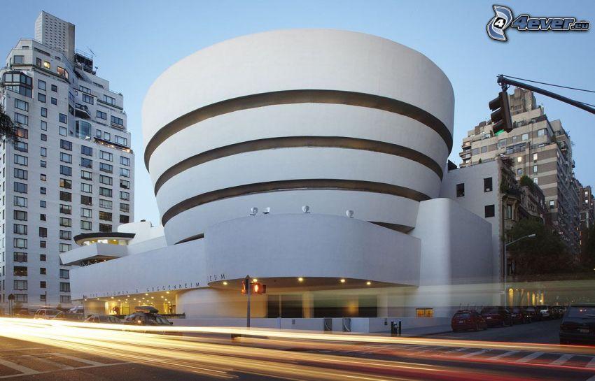 Guggenheim Museum, luces