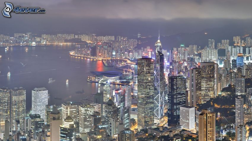 Hong Kong, rascacielos