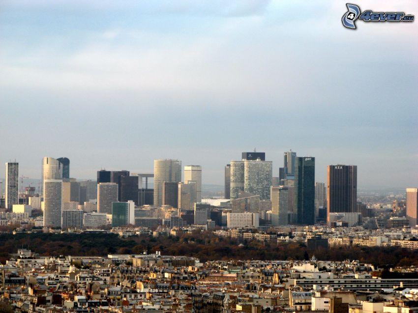 La Défense, rascacielos, París
