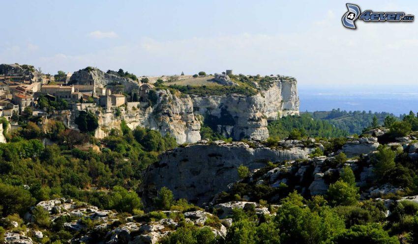 Les Baux de Provence, arrecife