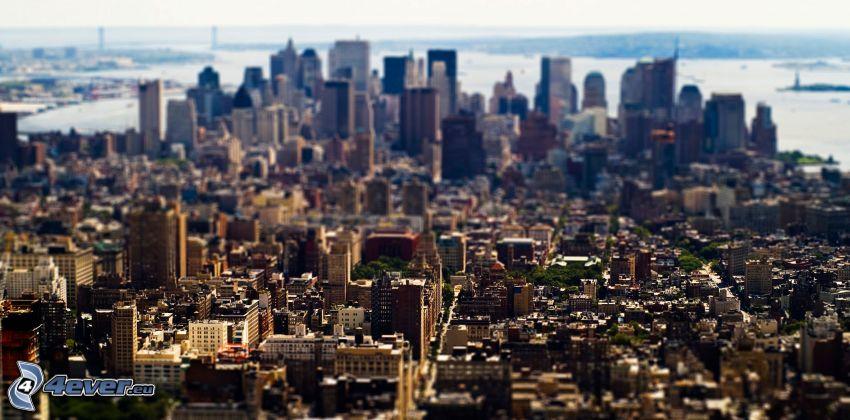 Manhattan, diorama