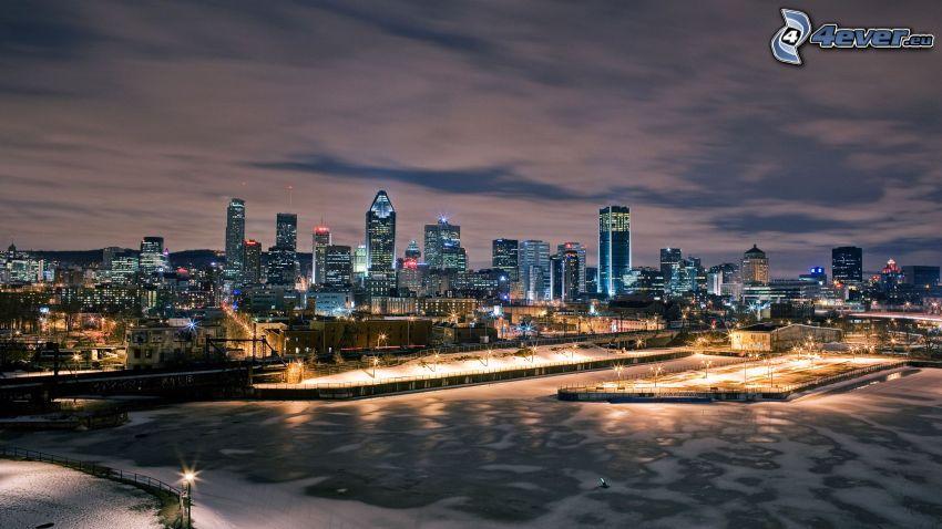 Montreal, ciudad de noche