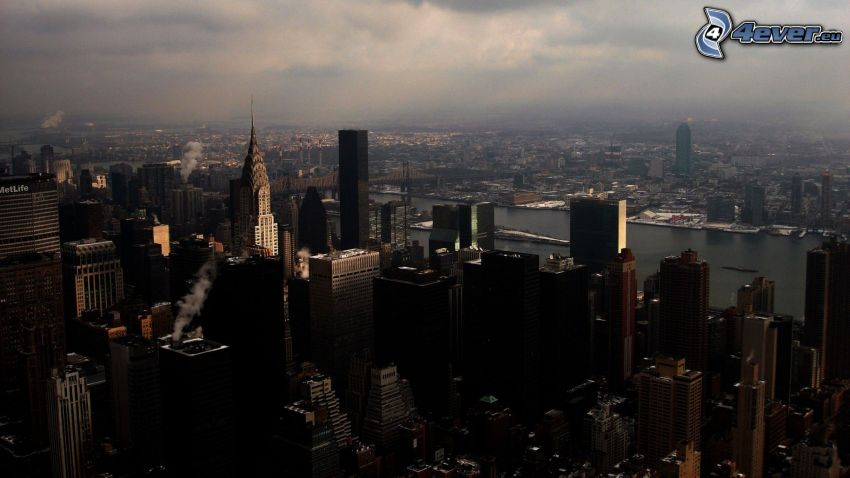 New York, rascacielos, Chrysler Building
