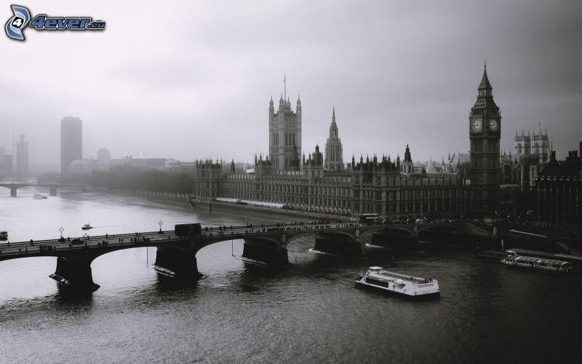 Palacio de Westminster, Londres, Big Ben, Parlamento británico